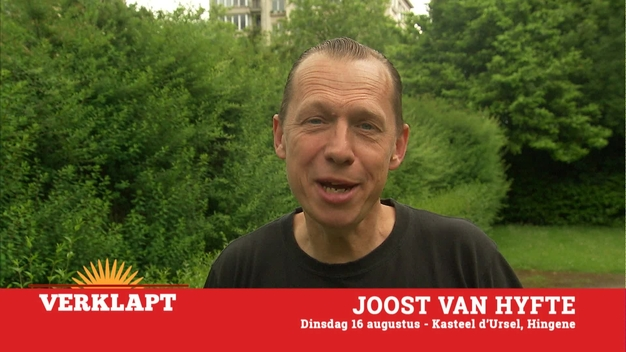 Joost lacht al kokend in Hingene